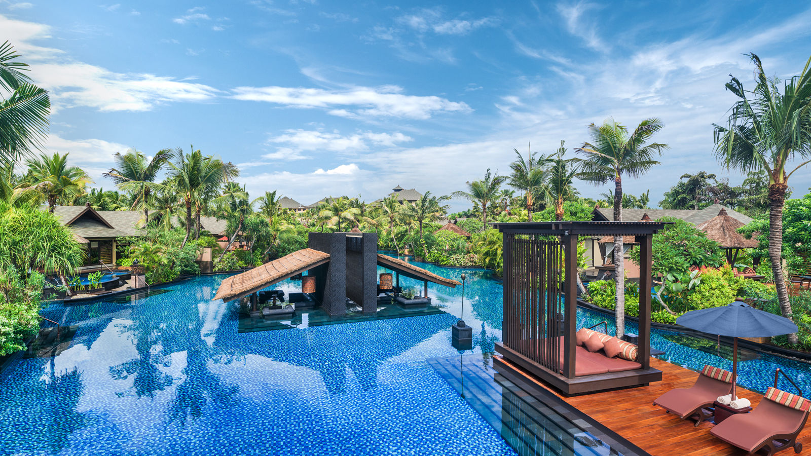 Salt Water Lagoon at The St Regis Bali Resort