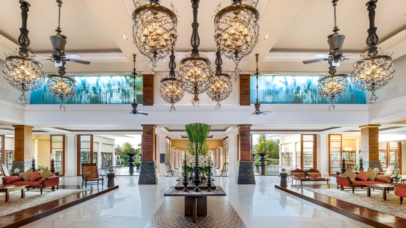 Lobby at The St. Regis Bali Resort