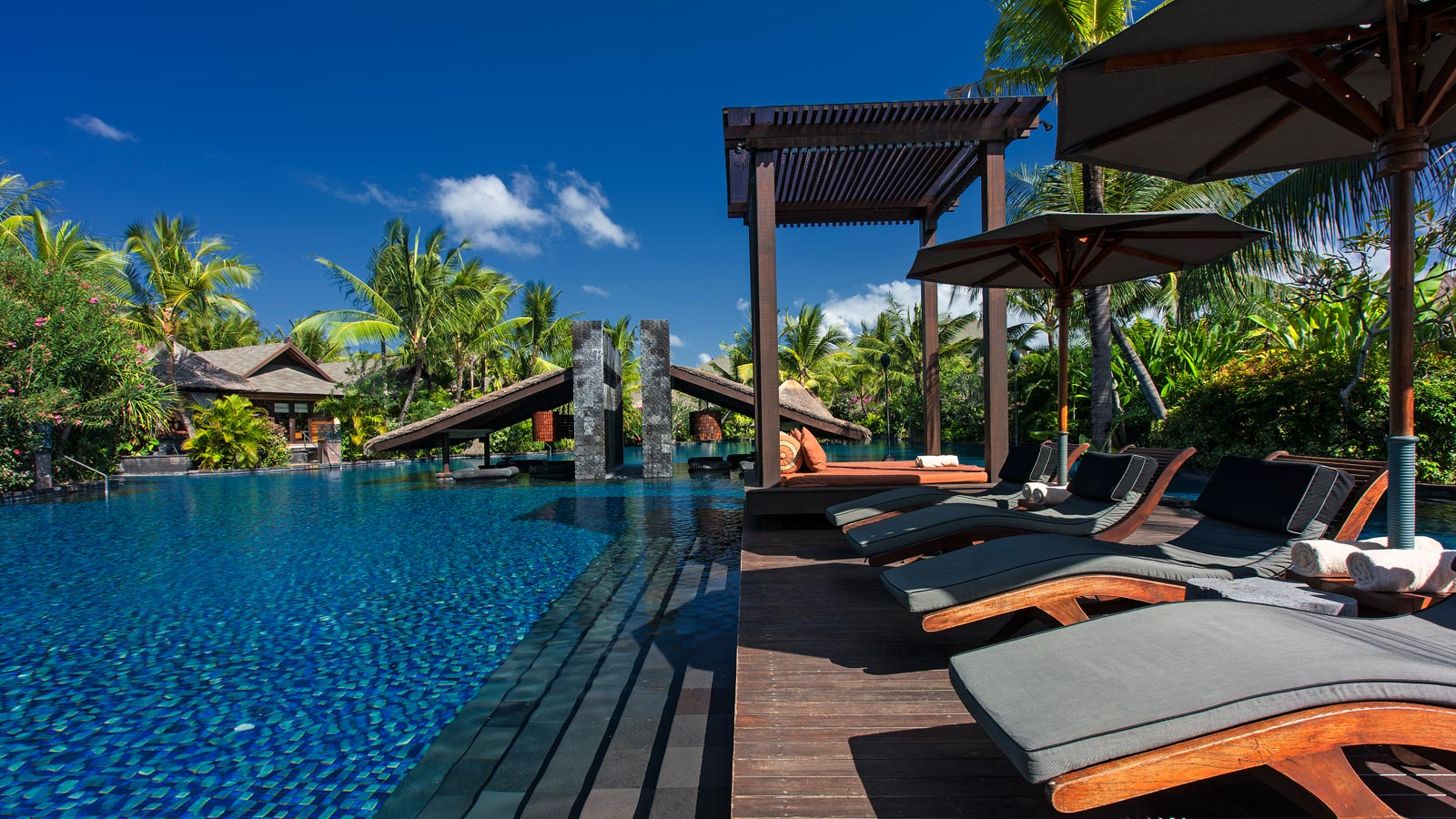 Swimmable Lagoon at The St. Regis Bali Resort