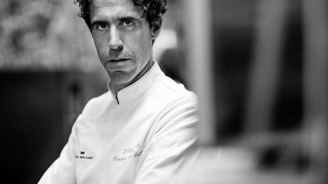 Michelin-star chef Fernando Pérez Arellano