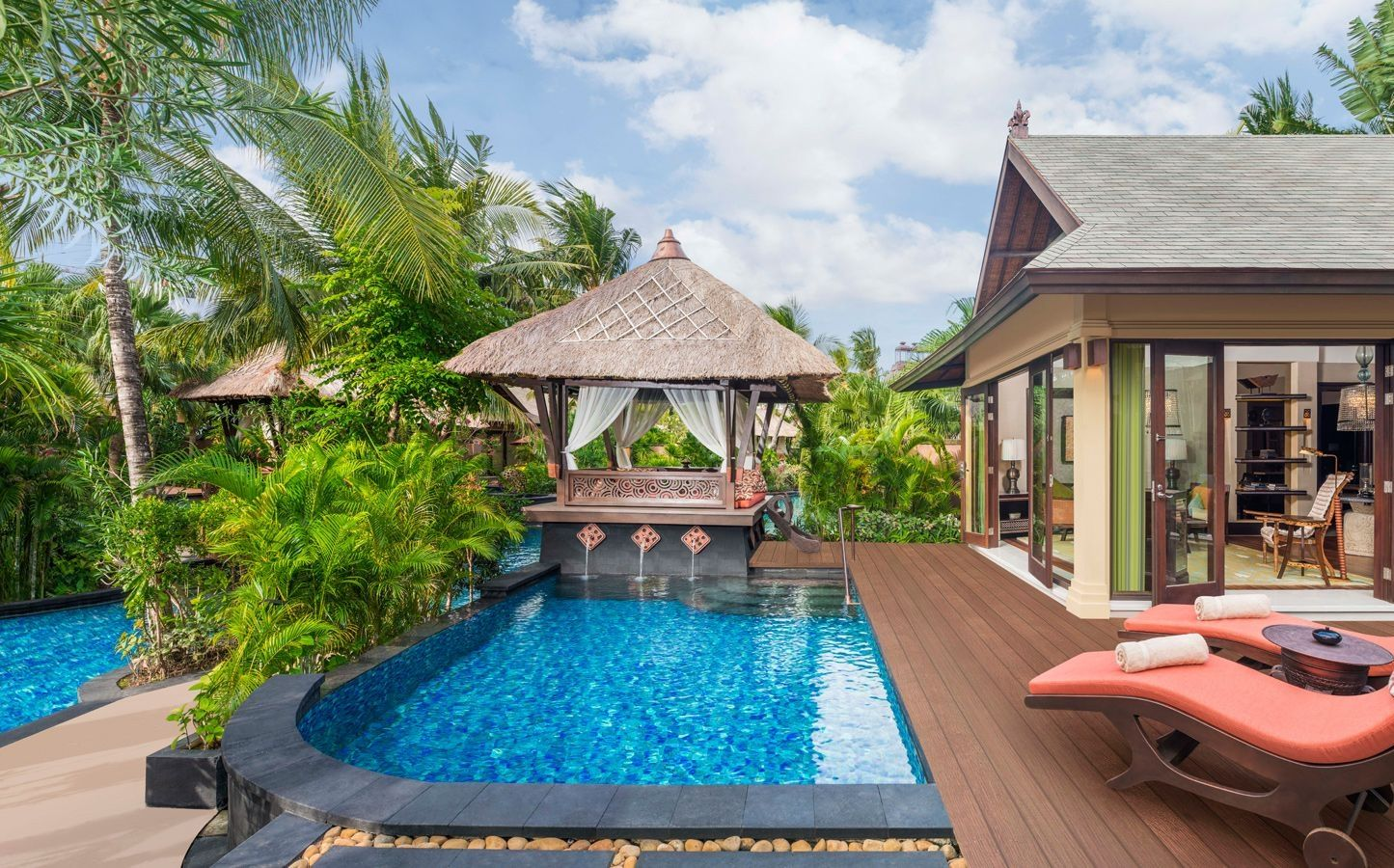 bali villa lagoon villa one bedroom st regis bali resort and